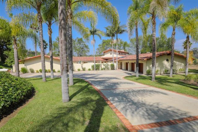 7130 Via De  Maya, Rancho Santa Fe, CA 92067 (#180060495) :: Ascent Real Estate, Inc.