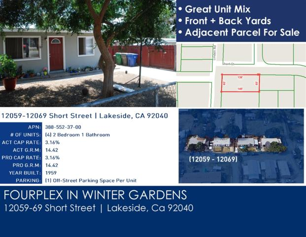 12059-69 Short Street, Lakeside, CA 92040 (#180061404) :: Ascent Real Estate, Inc.