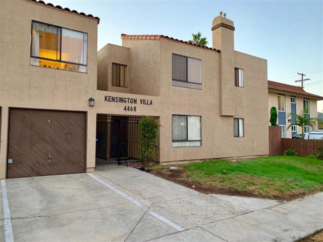 4468 Marlborough Ave #6, San Diego, CA 92116 (#180062016) :: Neuman & Neuman Real Estate Inc.