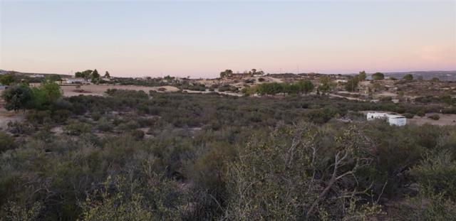 Tierra Del Sol Road #1, Boulevard, CA 91905 (#180062075) :: The Yarbrough Group