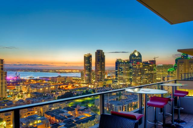 550 Front St #2006, San Diego, CA 92101 (#180063269) :: Heller The Home Seller