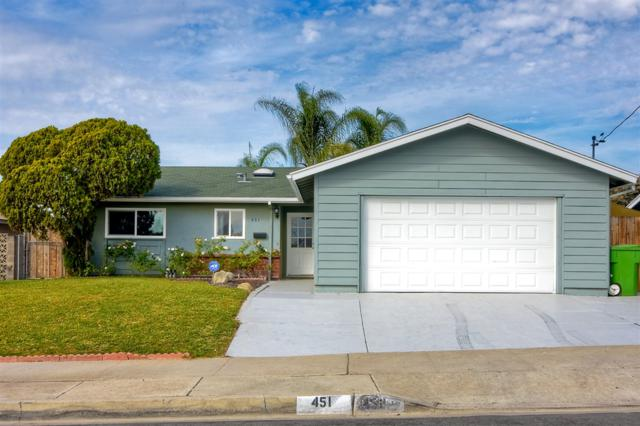 451 N Redondo Drive, Oceanside, CA 92057 (#180064252) :: KRC Realty Services