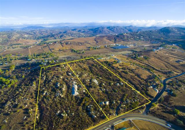 8.29 acres Vista Ramona Rd. #1, Ramona, CA 92065 (#180065066) :: Farland Realty