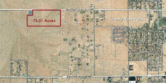 Two Mile Road Na, Twenty Nine Palms, CA 92277 (#180067759) :: Neuman & Neuman Real Estate Inc.