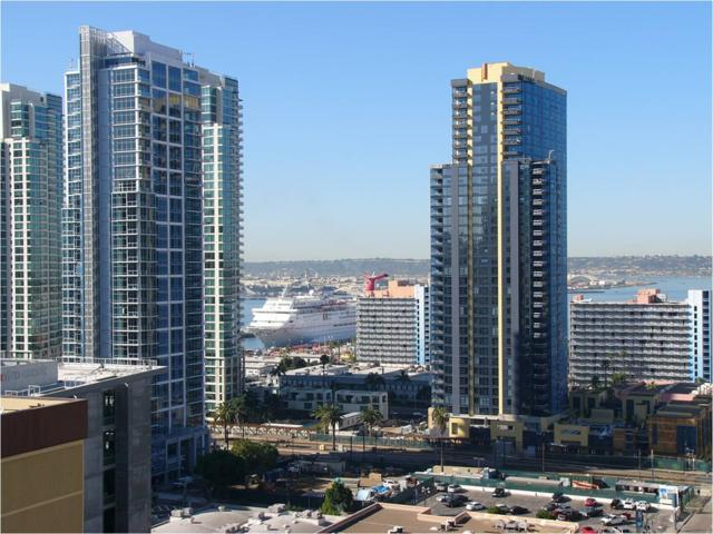 425 W Beech St #1604, San Diego, CA 92101 (#190001363) :: The Yarbrough Group