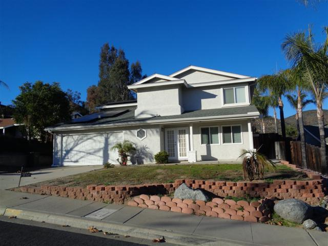 10102 Wycliffe St, Santee, CA 92071 (#190002546) :: Whissel Realty