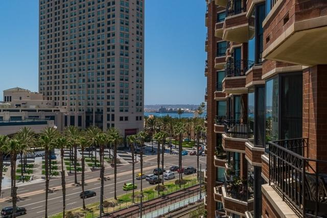 500 W Harbor Drive #708, San Diego, CA 92101 (#190006255) :: Coldwell Banker Residential Brokerage