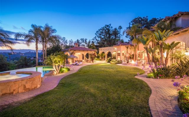 6971 Rancho La Cima Dr, Rancho Santa Fe, CA 92067 (#190006566) :: The Yarbrough Group