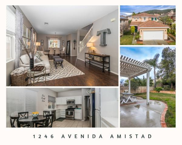 1246 Avenida Amistad, San Marcos, CA 92069 (#190008517) :: Whissel Realty