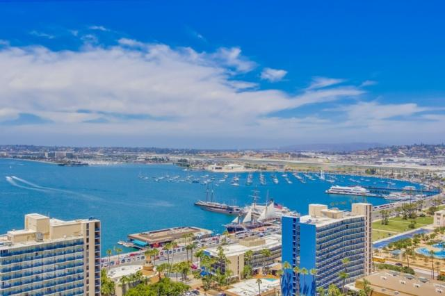 700 W E St #2802, San Diego, CA 92101 (#190008834) :: Whissel Realty