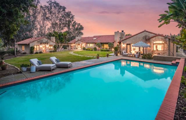 7255 La Soldadera, Rancho Santa Fe, CA 92067 (#190009336) :: Coldwell Banker Residential Brokerage