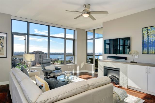 700 W E St #1606, San Diego, CA 92101 (#190009533) :: Whissel Realty