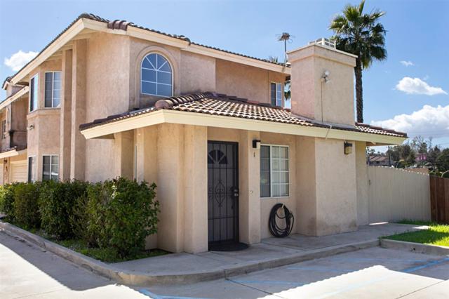 406 W Lincoln Avenue #1, Escondido, CA 92026 (#190013810) :: Coldwell Banker Residential Brokerage