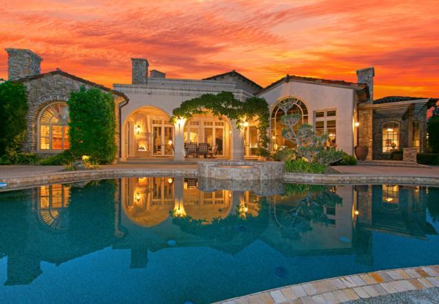 18310 Calle La Serra, Rancho Santa Fe, CA 92091 (#190013876) :: Neuman & Neuman Real Estate Inc.