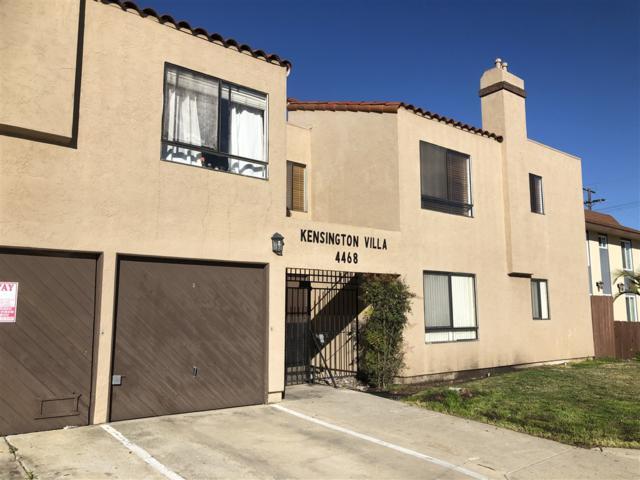 4468 Marlborough Avenue #7, San Diego, CA 92116 (#190017287) :: Whissel Realty