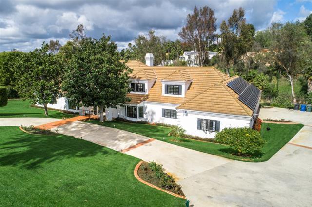 17423 Circa Del Sur, Rancho Santa Fe, CA 92067 (#190019718) :: Whissel Realty