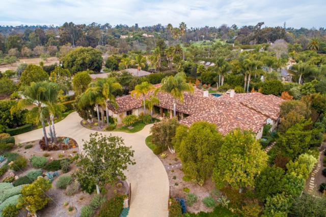 6320 El Sicomoro, Rancho Santa Fe, CA 92067 (#190020000) :: Whissel Realty