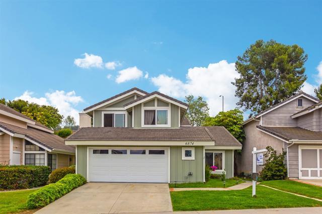 6874 Watercourse Dr., Carlsbad, CA 92011 (#190027427) :: Neuman & Neuman Real Estate Inc.