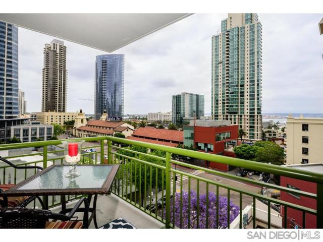 1240 India St. #703, San Diego, CA 92101 (#190027449) :: Keller Williams - Triolo Realty Group