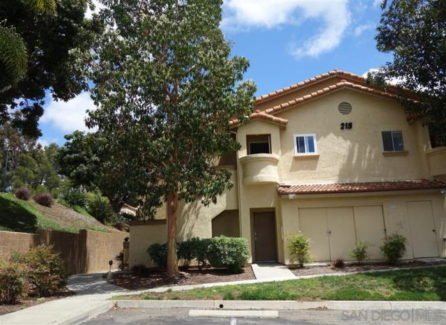 215 Woodland Pkwy #202, San Marcos, CA 92069 (#190027797) :: Whissel Realty