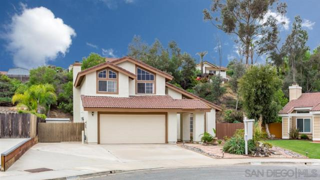 8850 Burkshire Pl, Lakeside, CA 92040 (#190032218) :: Whissel Realty