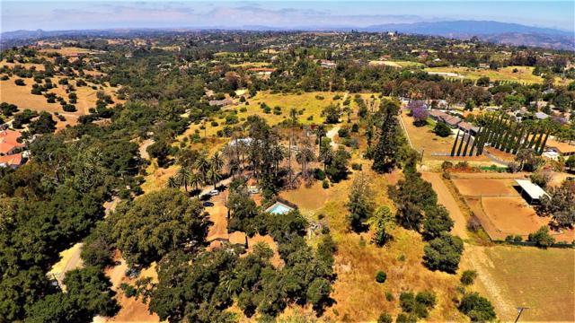 3210 Live Oak Park Road 14.23 Acres, Fallbrook, CA 92028 (#190032941) :: Allison James Estates and Homes