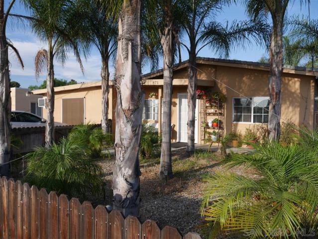 871 Avocado Ave, El Cajon, CA 92020 (#190039824) :: Keller Williams - Triolo Realty Group