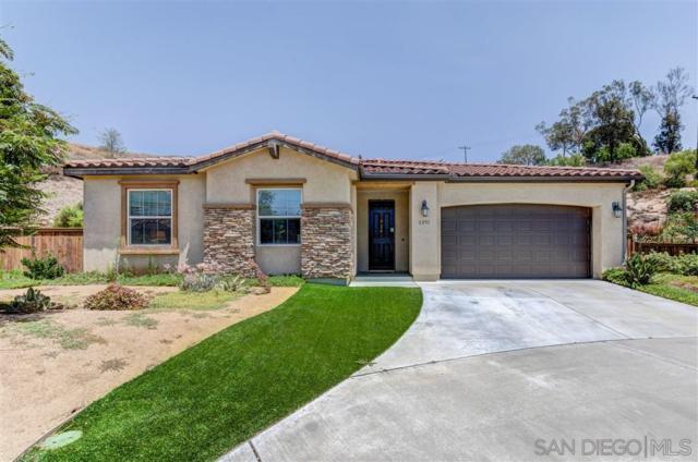 2293 Los Senderos, Santee, CA 92071 (#190040151) :: Pugh | Tomasi & Associates