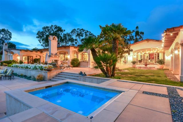 17514 Rancho La Noria, Rancho Santa Fe, CA 92067 (#190040690) :: The Yarbrough Group