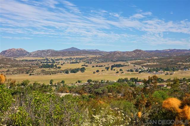 80 acres Custer Rd #06, Campo, CA 91906 (#190042599) :: Coldwell Banker Residential Brokerage