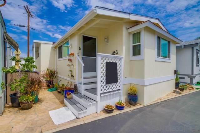 699 N Vulcan #74, Encinitas, CA 92024 (#190042700) :: Coldwell Banker Residential Brokerage