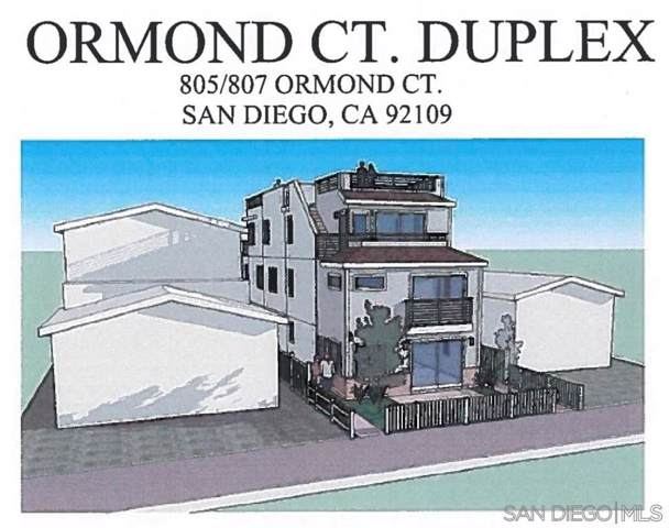 805 Ormond Ct, San Diego, CA 92109 (#190043161) :: The Stein Group