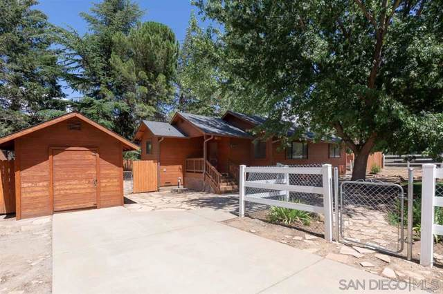 3055 Pheasant Drive, Julian, CA 92036 (#190043184) :: Allison James Estates and Homes