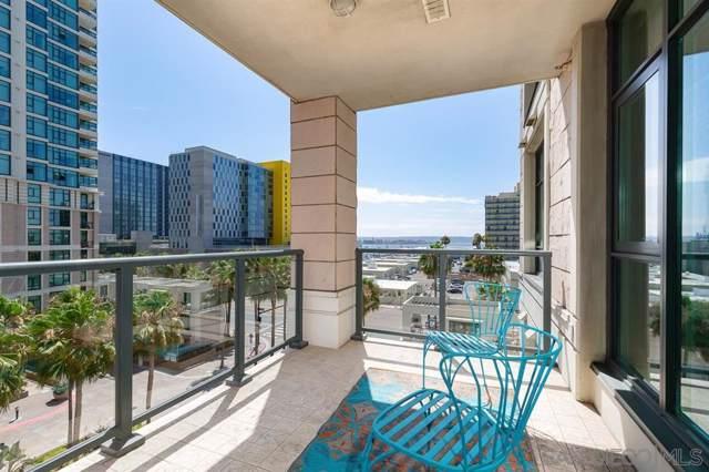 1205 Pacific Hwy #605, San Diego, CA 92101 (#190044839) :: Neuman & Neuman Real Estate Inc.