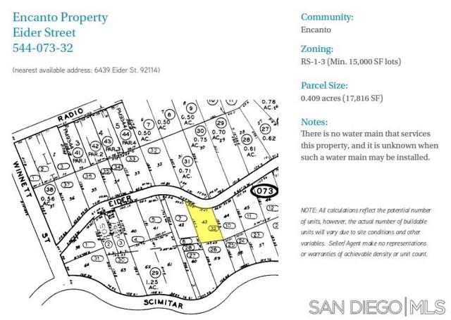 000 Eider #000, San Diego, CA 92114 (#190045486) :: Neuman & Neuman Real Estate Inc.