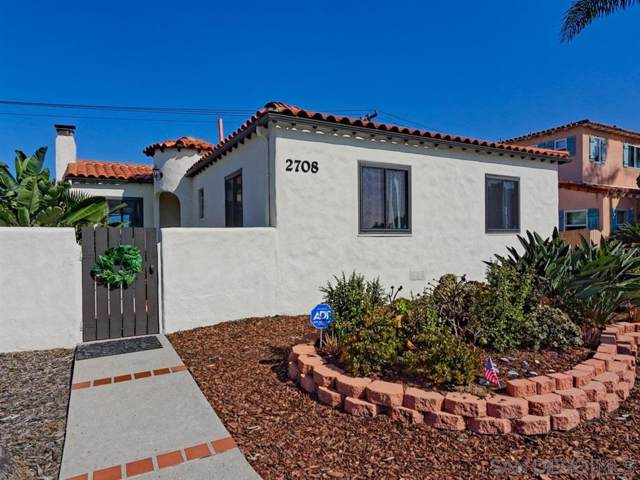 2708 Poinsettia Dr, San Diego, CA 92106 (#190045514) :: Coldwell Banker Residential Brokerage