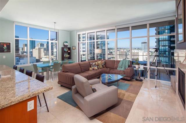 550 Front St #1404, San Diego, CA 92101 (#190045675) :: Dannecker & Associates