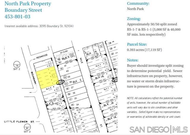 0000 Boundary St. #000, San Diego, CA 92104 (#190045708) :: Ascent Real Estate, Inc.