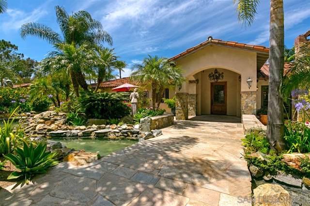 18351 Via De Las Flores, Rancho Santa Fe, CA 92067 (#190045824) :: Keller Williams - Triolo Realty Group