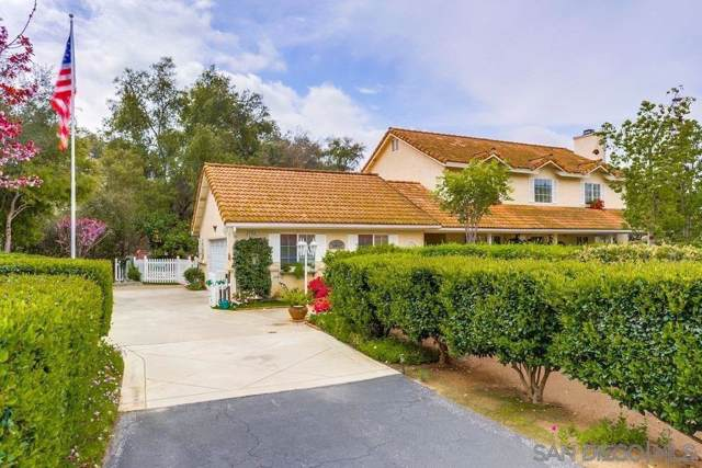 2736 Secret Lake Ln, Fallbrook, CA 92028 (#190046698) :: Cane Real Estate