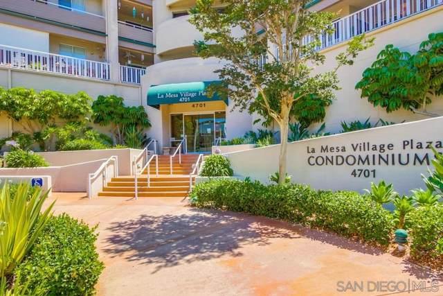 4701 Date Ave #109, La Mesa, CA 91942 (#190046755) :: Neuman & Neuman Real Estate Inc.
