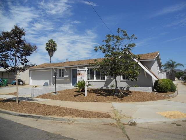 599 Nothomb St, El Cajon, CA 92019 (#190049743) :: Neuman & Neuman Real Estate Inc.