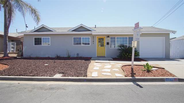5741 Calle Sal Si Puedes, San Diego, CA 92139 (#190050103) :: Allison James Estates and Homes