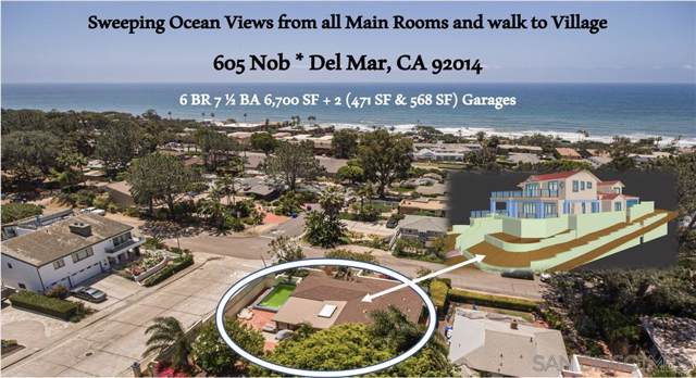 605 Nob, Del Mar, CA 92014 (#190050182) :: The Yarbrough Group