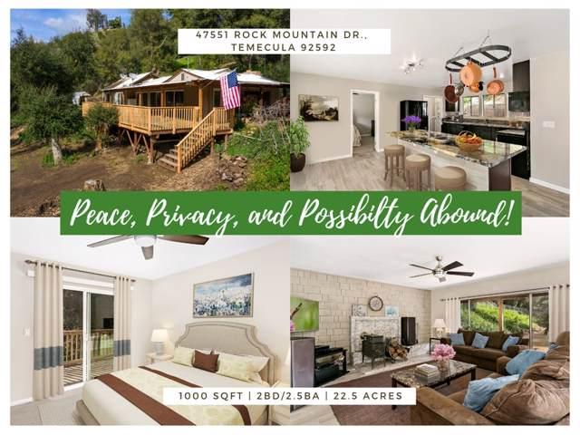 47751 Rock Mountain Dr, Temecula, CA 92592 (#190054616) :: Neuman & Neuman Real Estate Inc.