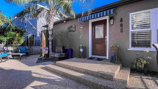 805 Brighton Ct, San Diego, CA 92109 (#190054938) :: The Yarbrough Group