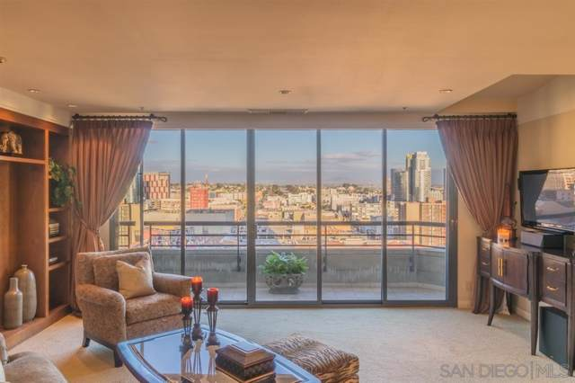 700 Front #1308, San Diego, CA 92101 (#190055402) :: Neuman & Neuman Real Estate Inc.