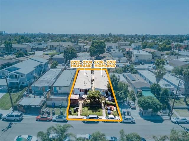2702-04 Highland Ave, San Diego, CA 92105 (#190055406) :: Neuman & Neuman Real Estate Inc.