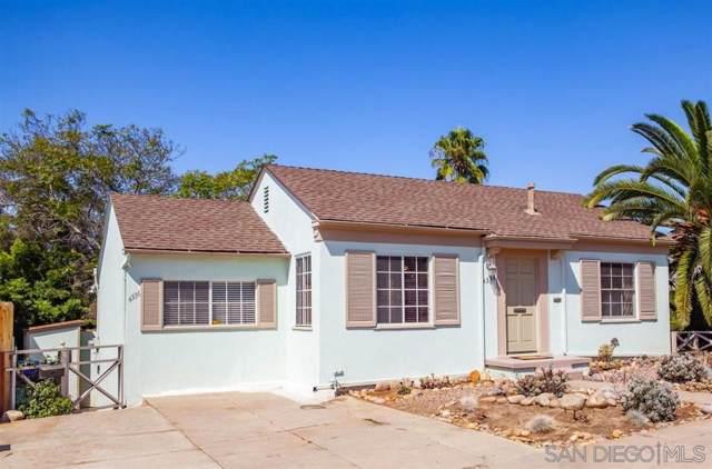 4334-36 Maryland St, San Diego, CA 92103 (#190055504) :: Dannecker & Associates