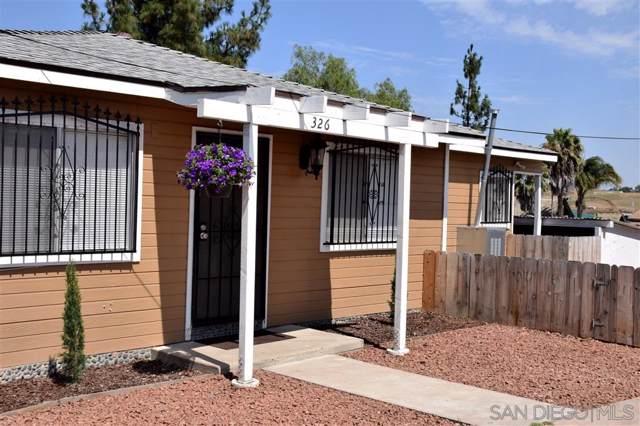 324-326 Willie James Jones Avenue, San Diego, CA 92102 (#190055636) :: Neuman & Neuman Real Estate Inc.